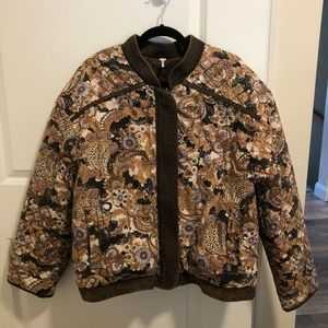 Free People Great Escape Quilted Jacket